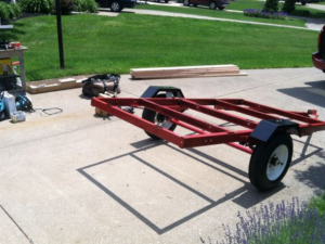 Harbor Freight 4 X 8 trailer