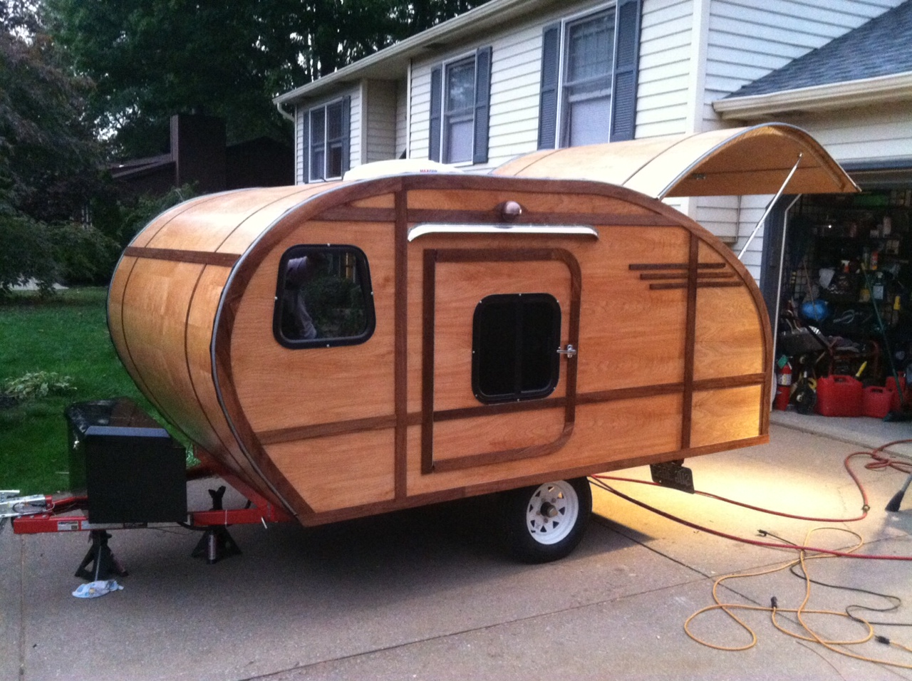 New Next He Raised The Woodie Sides Using 14 Inch Plywood