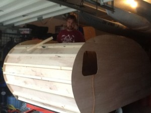 Bending the front interior plywood was a nerve wracking!